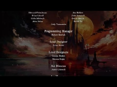 Bloodstained: Ritual of the Night Final Bosses and Credits |
