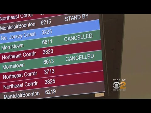 More Delays And Cancellations For Amtrak, NJ Transit