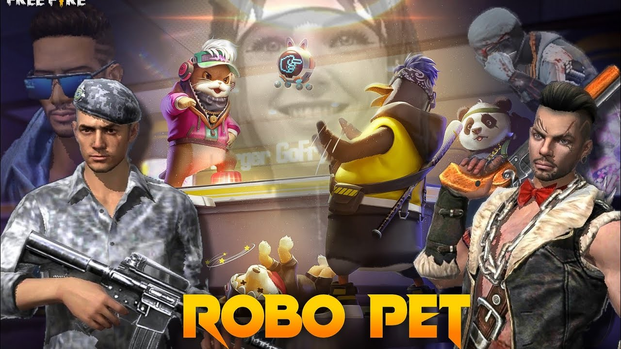 Robo Pet 🐼 [ एक मिशन] Free Fire Short Emotional Story in Hindi || Free Fire Story