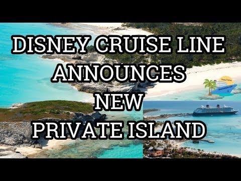 DISNEY CRUISE LINE ANNOUNCES NEW PRIVATE ISLAND | BREAKING NEWS