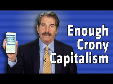 Enough Crony Capitalism