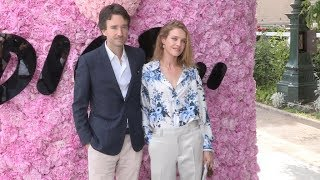 Natalia Vodianova and Antoine Arnault at the Dior Homme Menswear SS 2019 Fashion Show in Paris