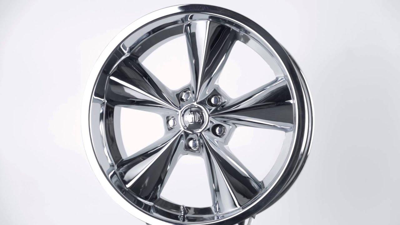 Boyd Coddington Junkyard Dog Series Chrome Finish Wheels Gunmetal