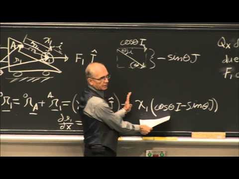16. Kinematic Approach to Finding Generalized Forces