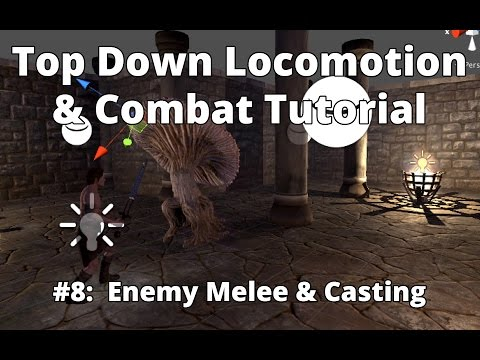 Infinity Series] Top-Down / 3rd Person Locomotion & Combat