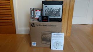 hP Microserver Gen8 Setup (Part 1)