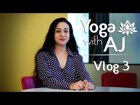 Importance Of Breathing – Yoga & Breathing  | Vlog 3 |  Yoga With AJ