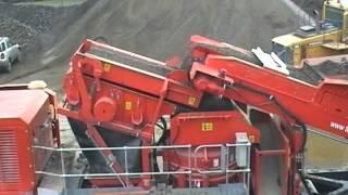 Конусная дробилка C-1540 Terex Finlay(С-1540 - Конусная дробилка на гусеничном шасси производства Terex Finlan MPE: Конусная дробилка на гусеничном ходу..., 2012-07-12T15:07:12.000Z)