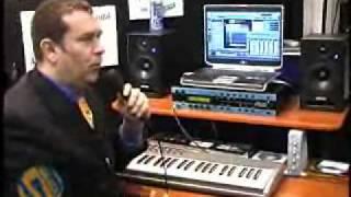 Muse UniWire demo video, Winter NAMM 2006