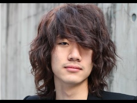 Korean Men Medium Long Hairstyle Youtube
