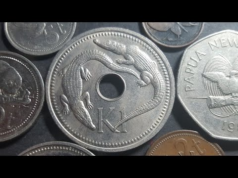 The beautiful coins of Papua New Guinea