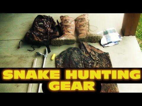 Snake Hunting Gear
