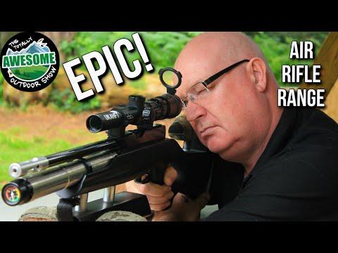 Epic Airgun Range!! | TAOutdoors