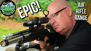 Epic Airgun Range!! | TAOutdoors