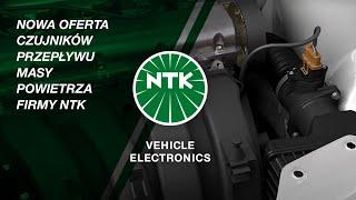 Nowa oferta czujników przepływu masy powietrza firmy NTK