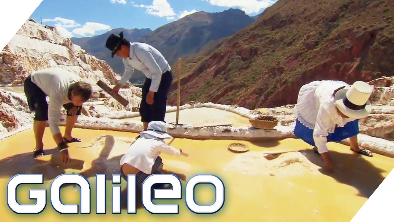Höchste Salzfarm der Welt | Galileo | ProSieben