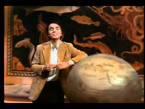 Carl Sagan on the great library of Alexandria 1/2