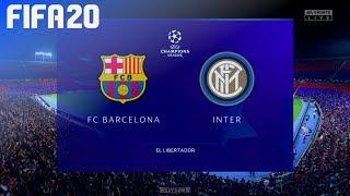 Fifa 20 - fc barcelona vs. inter milan ...