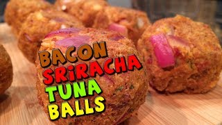 Healthy Bacon Sriracha Tuna Balls Recipe (low Carb)