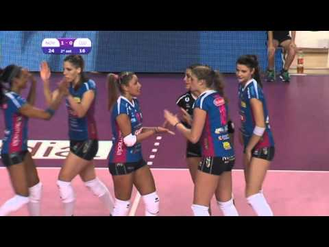 A1 2015-2016 Igor Volley - Club Italia 3-1 Highlights