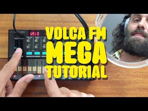 Volca FM - Cuckoo Mega Tutorial + Patch Base iPad app