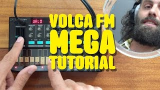 Volca FM - Cuckoo Mega Tutorial + Patch Base iPad app