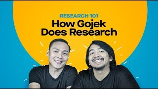 How Gojek does research