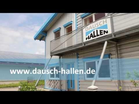 Berühmt Dausch Hallen-Vertriebs GmbH (Unternehmensfilm) - YouTube #DQ_83