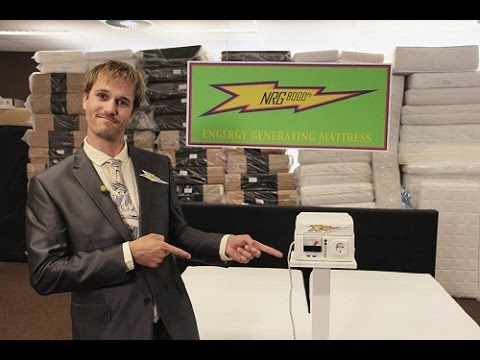 #SMERGY DEAL: THE ENERGY GENERATING MATTRESS #NRG8000