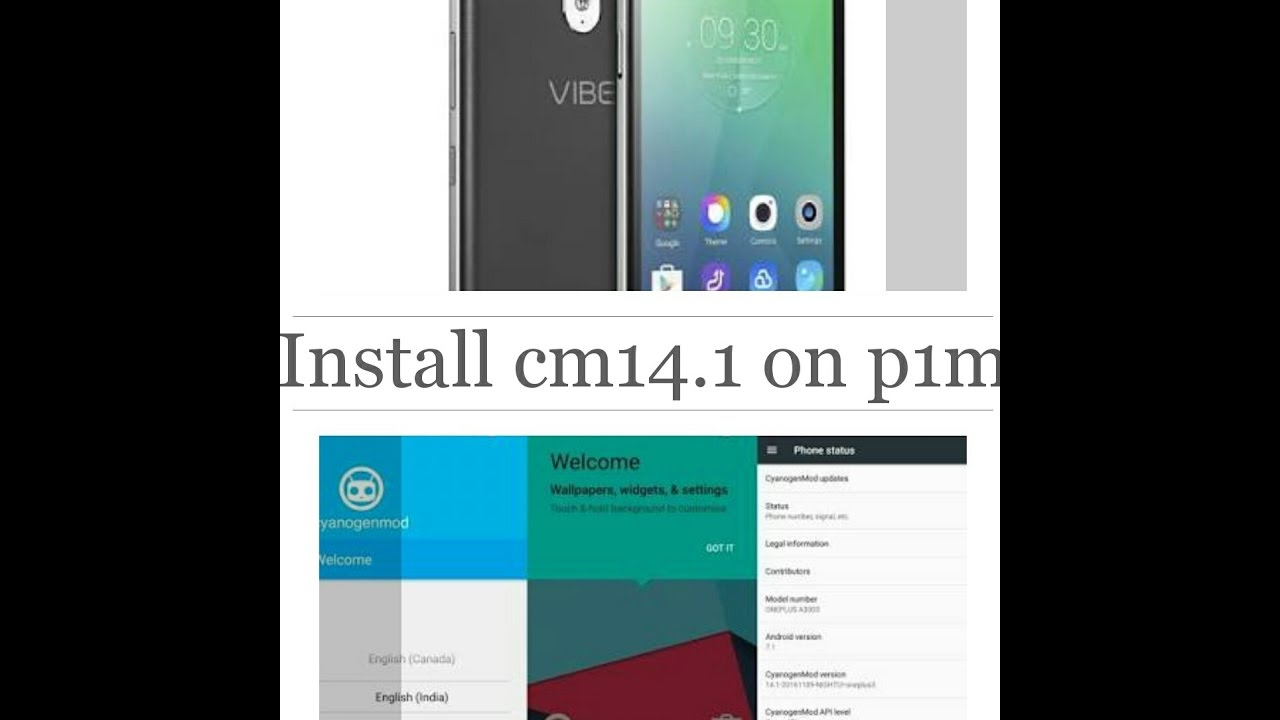 Mobile Info: Lenovo Vibe P1m Reset