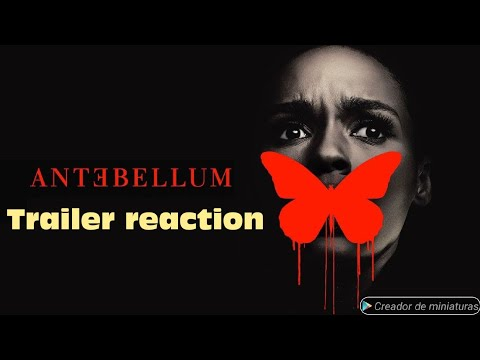 ANTEBELLUM trailer reaction