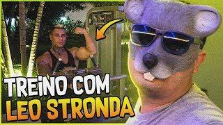 TREINEI PELA PRIMEIRA VEZ COM O LEO STRONDA #FINODOFINO