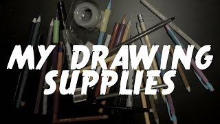 My Favorite Drawing Supplies