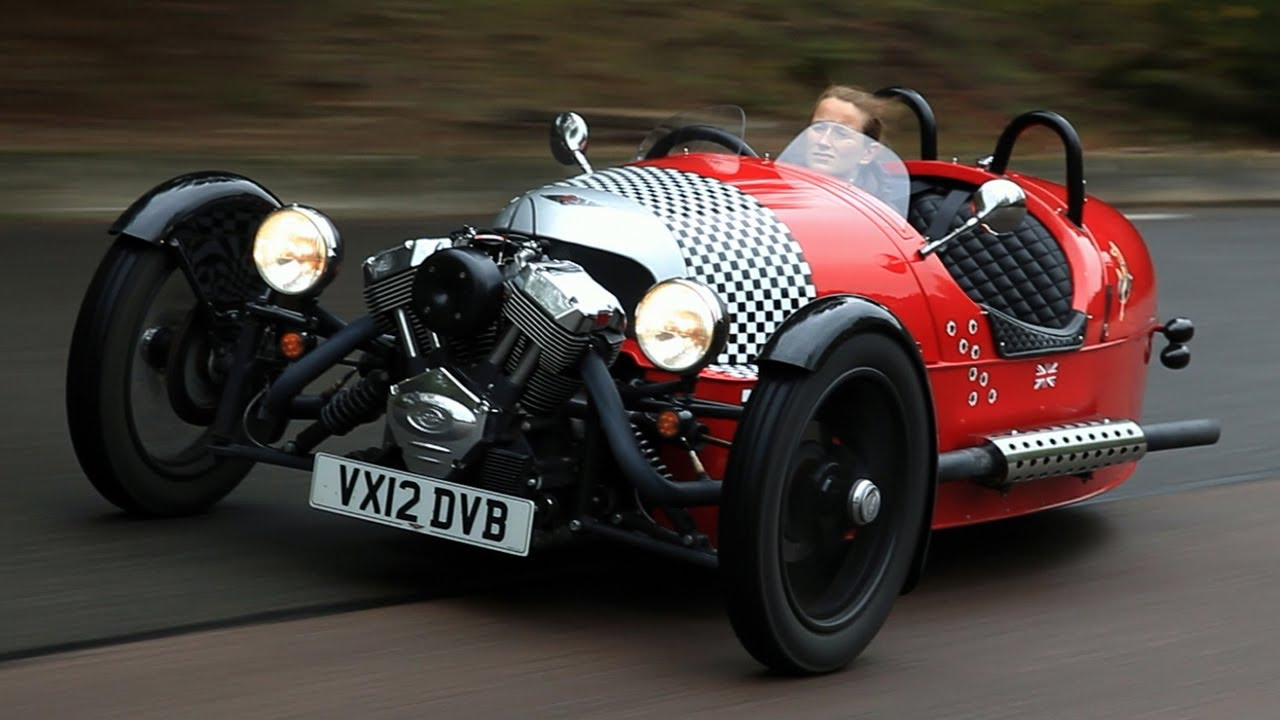 Morgan 3 Wheeler Video Review Autocar Co Uk Youtube