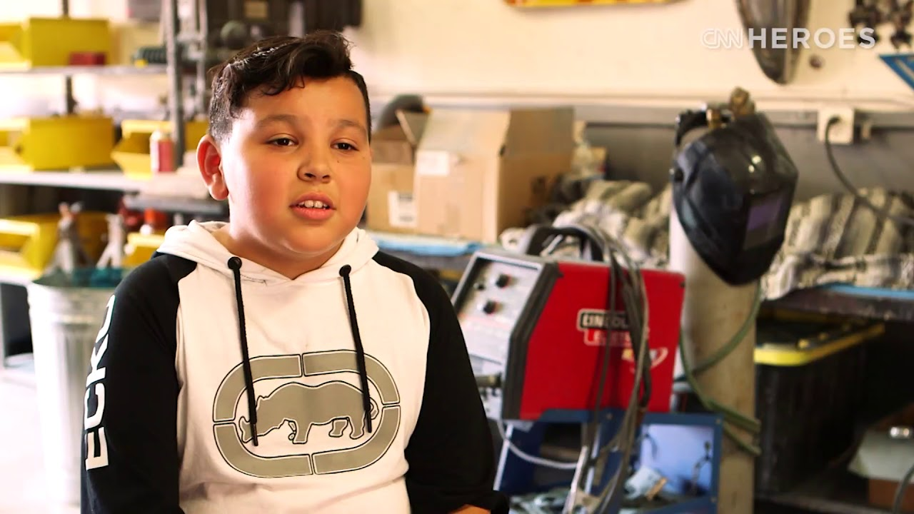 CNN Heroes: Aaron Valencia & The Kids Who Inspired Him