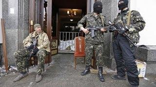 В Донецке боевики захватили городское здание МЧС