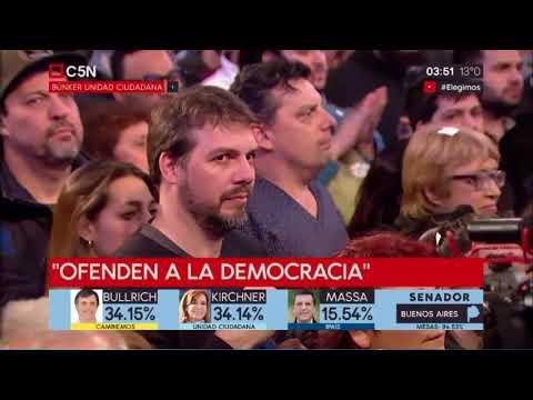 CRISTINA KIRCHNER GANÓ LA PROV. DE BS. AS. PERO SE LO OCULTARON AL PUEBLO ARGENTINO