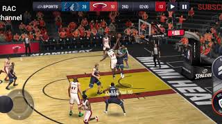 3 Point Shot dan Mid Range Shot NBA LIVE MOBILE