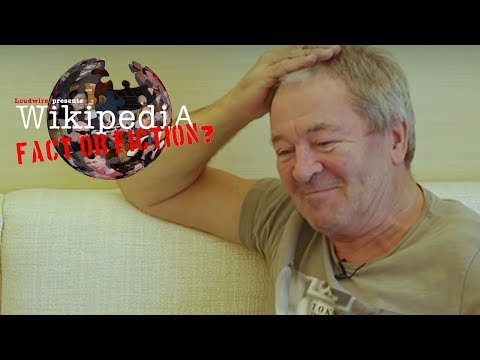 Deep Purple's Ian Gillan - Wikipedia: Fact or Fiction?