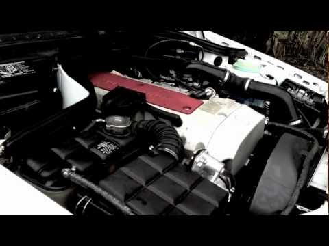 2000 Mercedes-Benz C230 Kompressor Engine & Exhaust View Rev W202 ( Supercharged 2.3L )