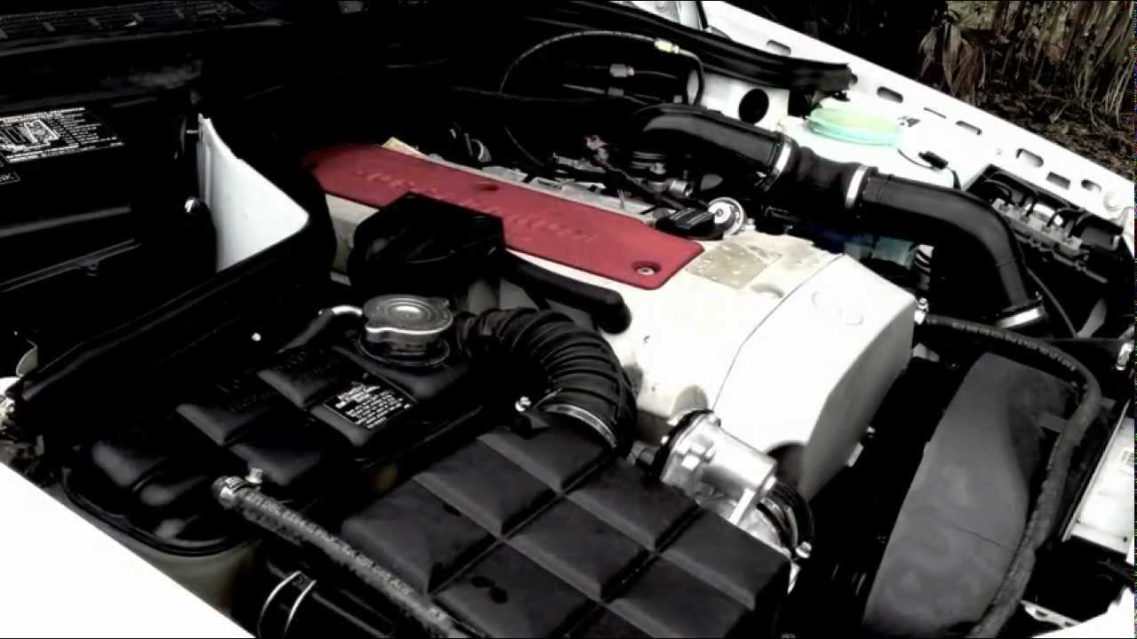 2000 mercedes benz c230 kompressor engine exhaust view. Black Bedroom Furniture Sets. Home Design Ideas