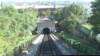 Фуникулер, Владивосток. Funicular, Vladivostok(Фуникулер, горный трамвайчик - одна из достопримечательностей г.Владивосток. Что такое фуникулёр..., 2016-12-29T03:36:35.000Z)