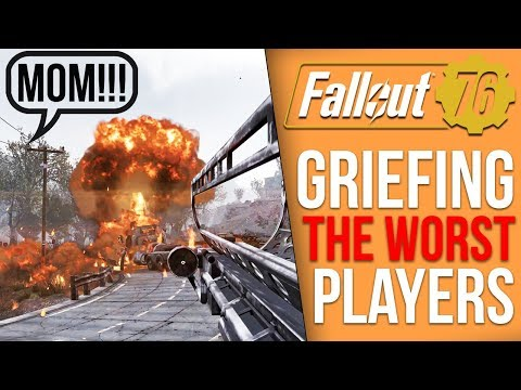 Griefing Players in Fallout 76