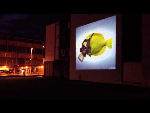 Outdoor Advertising by Movie Screens Outdoors