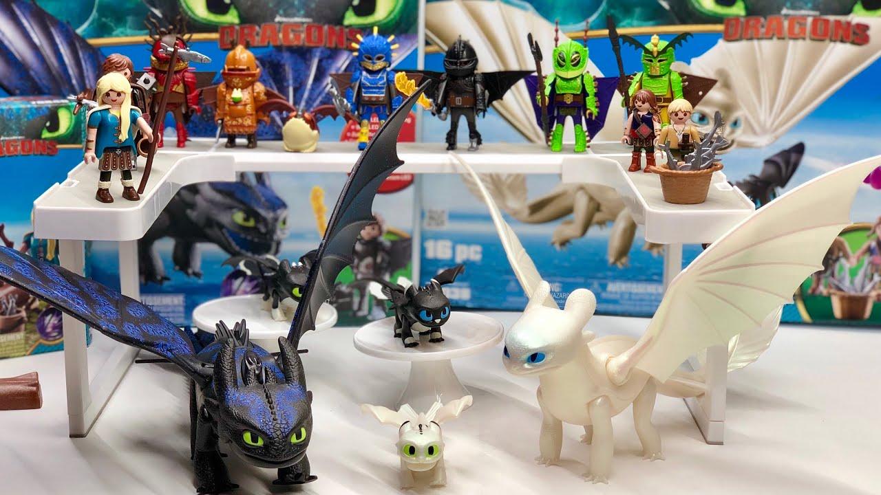 Como Entrenar Super Coleccionables A Coleccion Playmobil 3 Juguetes ► Tu Mi Juegos Dragon Y O0n8wPk