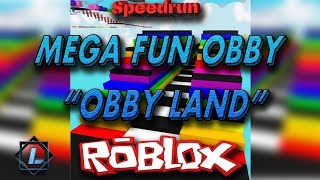 "[ROBLOX| SPEEDRUN] MEGA FUN OBBY - ""OBBY LAND"" [1 LIFE - 50 STAGES] 