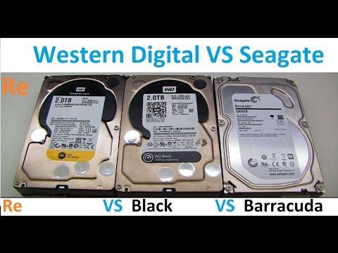 Western Digital Black VS WD Re Enterprise VS Seagate 2TB HDDs
