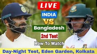 Bangladesh vs india 2nd test match live on youtube | ban vs ind 2nd test match live streaming online
