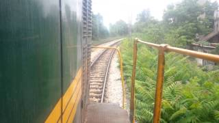 Train Driver's View:661-243 On  Railroad In Serbia From  Belgrade To Novi Be
