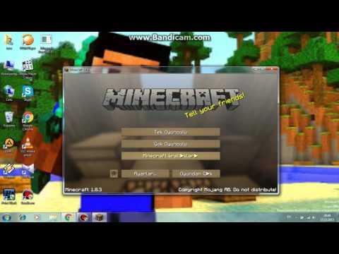 Minecraft lunapark tanitimi